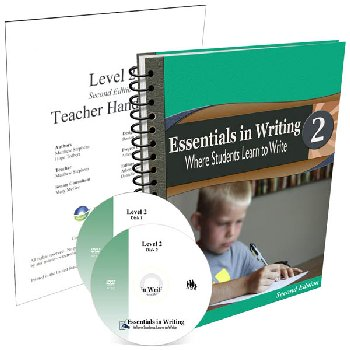Essentials in Writing Level 2 Combo (DVD, Textbook/Worktext and Teacher Handbook) 2nd Edition