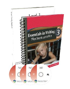 Essentials in Writing Level 3 Combo (DVD and Textbook/Workbook)