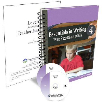 Essentials in Writing Level 4 Combo (DVD, Textbook/Workbook and Teacher Handbook) 2nd Edition