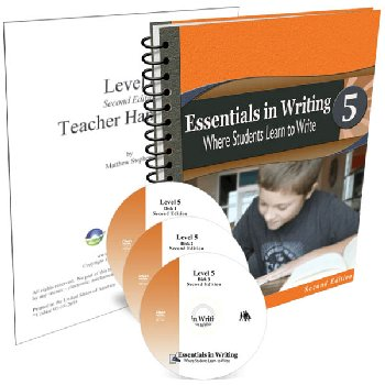 Essentials in Writing Level 5 Combo (DVD, Textbook/Workbook and Teacher Handbook) 2nd Edition