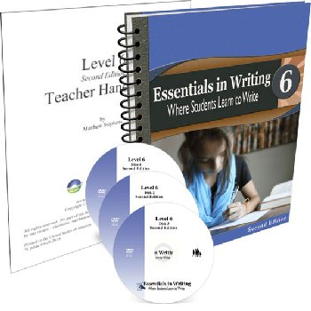 Essentials in Writing Level 6 Combo (DVD, Textbook/Workbook and Teacher Handbook) 2nd Edition