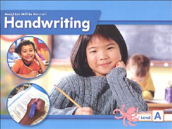 Houghton Mifflin Harcourt International Handwriting Continuous Stroke Student Edition Grade 1 Level A