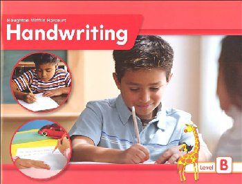 Houghton Mifflin Harcourt International Handwriting Continuous Stroke Student Edition Grade 2 Level B
