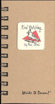 Bird Watching: My Bird Journal - Write it Down Mini Size Kraft Collection