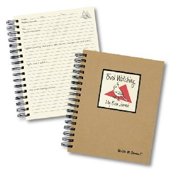 Bird Watching: My Bird Journal - Write it Down Full Size Kraft Collection 200-page Journal