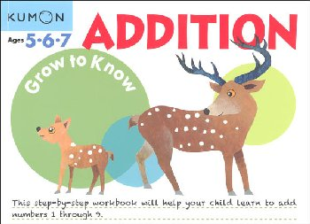 Grow to Know Addition Workbook