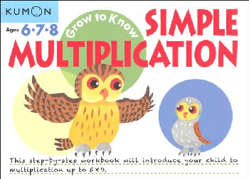 Grow to Know Simple Multiplication Workbook