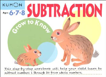 Grow to Know Subtraction Workbook