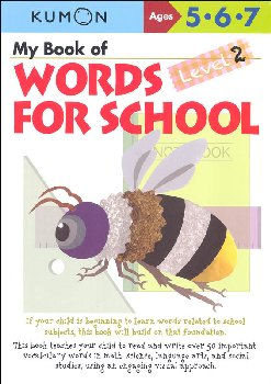 My Book of Words for School Level 2 Workbook