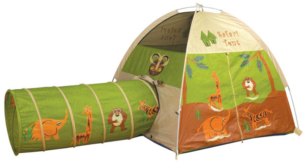 Jungle Safari Tent & Tunnel Combo