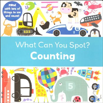 What Can You Spot? Counting Board Book