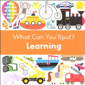 What Can You Spot? Learning Board Book