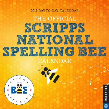 Official Scripps National Spelling Bee 2017 Day-to-Day Calendar