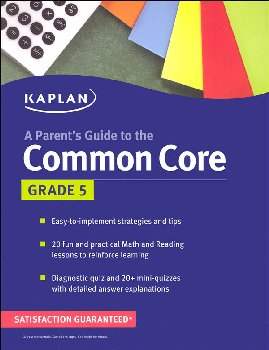 Parent's Guide to the Common Core: Grade 5