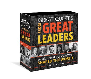 Great Quotes From Great Leaders 2020 Boxed Calendar