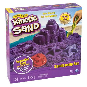 Kinetic Sand Sandcastle Set (1 lb.)