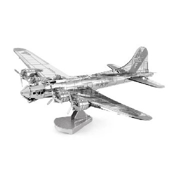 B-17 Flying Fortress (Metal Earth 3D Laser Cut Model)