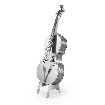 Bass Fiddle (Metal Earth 3D Laser Cut Model)