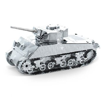 Sherman Tank (Metal Earth 3D Laser Cut Model)