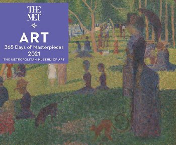 Art: 365 Days Masterpieces 2020 Desk Calendar
