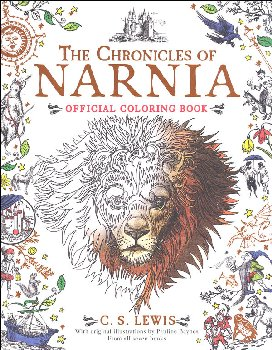 Chronicles of Narnia Official Coloring Book