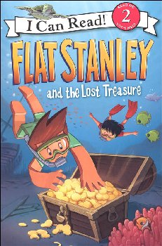 Flat Stanley and the Lost Treasure (I Can Read! Level 2)