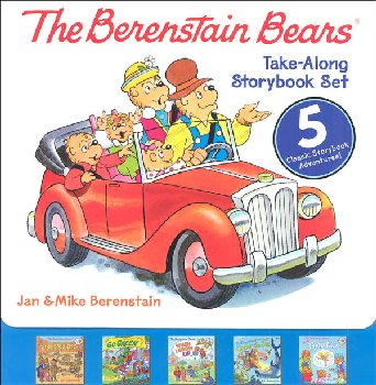 Berenstain Bears Take-Along Storybook Set