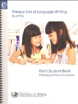 Primary Arts of Language Writing Student