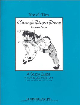 Chang's Paper Pony Novel-Ties Study Guide