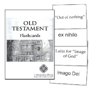 Old Testament Flashcards Set of 213