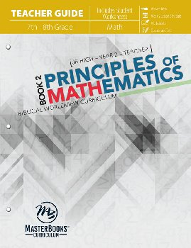 Principles of Mathematics Book 2 Teacher Guide
