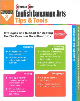 Common Core English Language Arts Tips & Tools Grade 3