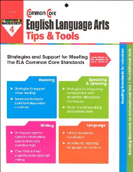 Common Core English Language Arts Tips & Tools Grade 4