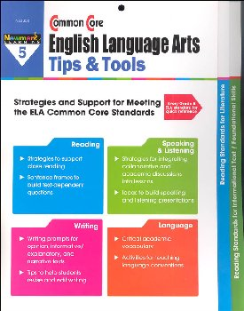 Common Core English Language Arts Tips & Tools Grade 5