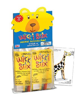 Animal Activity Wikki Stix Pak