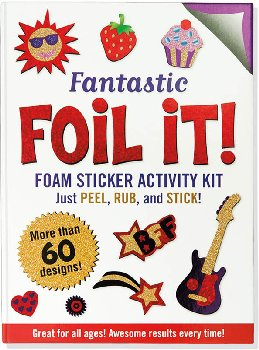 Fantastic Foil It! Foam Sticker Activity Kit