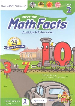 Math Facts Add/Subtract Level 2 DVD