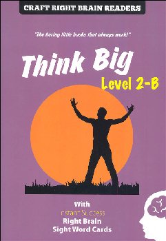 Think Big Level 2-B (Craft Right Brain Readers & Cards)