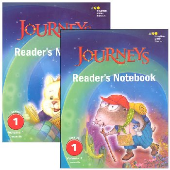 Journeys Reader's Notebook Consumable Collection Grade 1