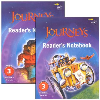 Journeys Reader's Notebook Consumable Collection Grade 3
