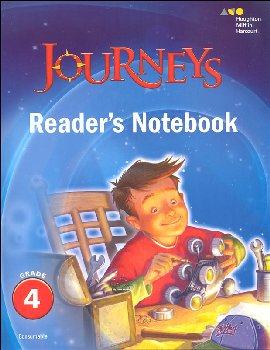 Journeys Reader's Notebook Grade 4