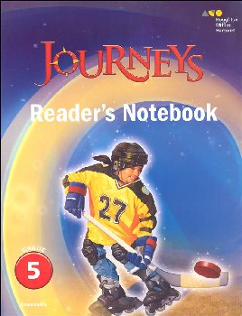 Journeys Reader's Notebook Grade 5