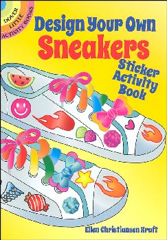 Design Your Own Sneakers Sticker Activity Book