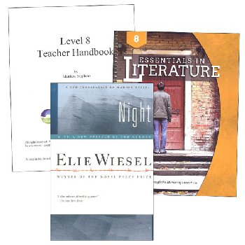 Essentials in Literature Level 8 Combo (DVD, Workbook, Teacher Handbook & Novel)