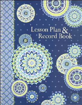 Blue Harmony Lesson Plan and Record Book