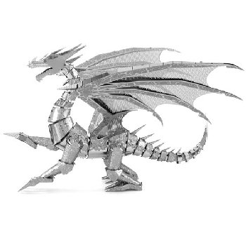 Silver Dragon ICONX 3D Metal Model Kit