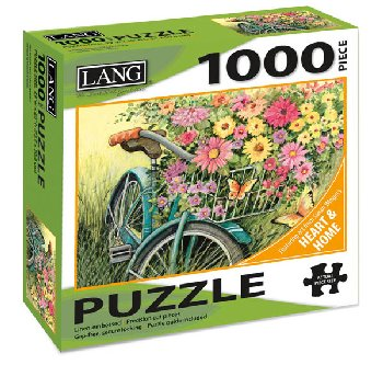 Bicycle Bouquet Puzzle (1000 piece)