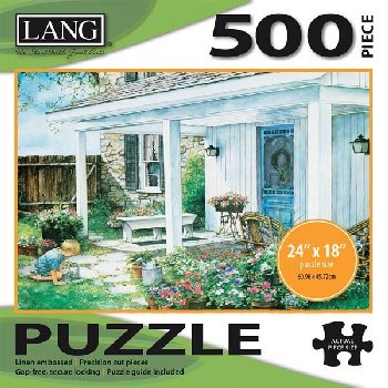 Potted Garden Puzzle (500 piece)