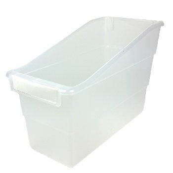 Tattle Shelf File - Clear