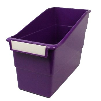 Tattle Shelf File - Purple